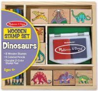 Hobby : Dinosaur Stamp Set - Træ legetøj 11633