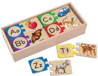 Pussel : Self-Correcting Letter Puzzles - Melissa & Doug legetøj 12541