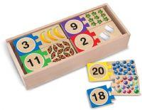 Pussel : Self-Correcting Number Puzzles - Melissa & Doug legetøj 12542