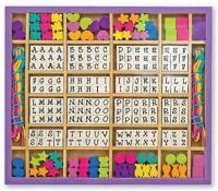Hobby : Wooden Stringing Beads - Melissa & Doug legetøj 13774