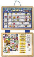 Hobby : My Monthly Magnetic Calendar - Melissa & Doug legetøj 13788
