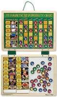 Hobby : My Magnetic Responsibility Chart - Melissa & Doug legetøj 13789