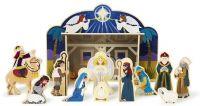 Pussel : Wooden Nativity Set - Melissa & Doug legetøj 13858