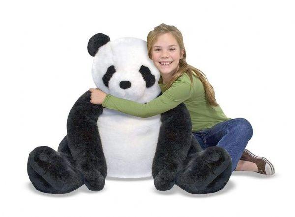 Image of Kæmpe Panda Bamse 70 cm (441-013990)