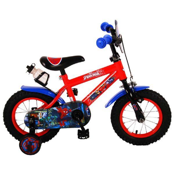 Image of Spiderman Børnecykel 12 tommer blå/rød (45-041254NL)