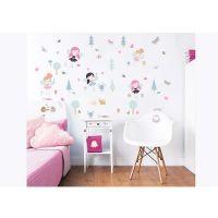 Børnemøbler : My Woodland Friends Wall Stickers - Walltastic woodland børneværelse 44944