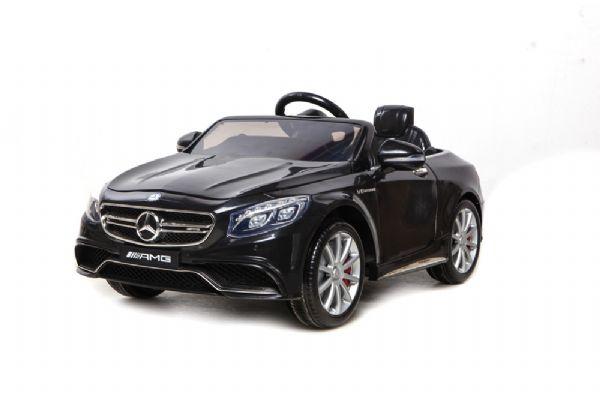 Sort Mercedes S63, 12V