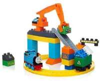 Thomas och vännerna : Thomas and Friends Mega Bloks Recycling Center - Thomas Tog Genbrugsplads DLC16