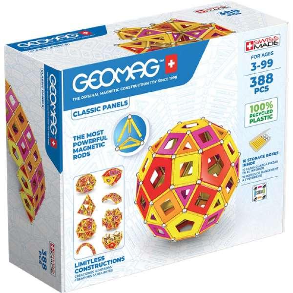 Image of Geomag Panels Masterbox Varm 388 Dele (71-000192)