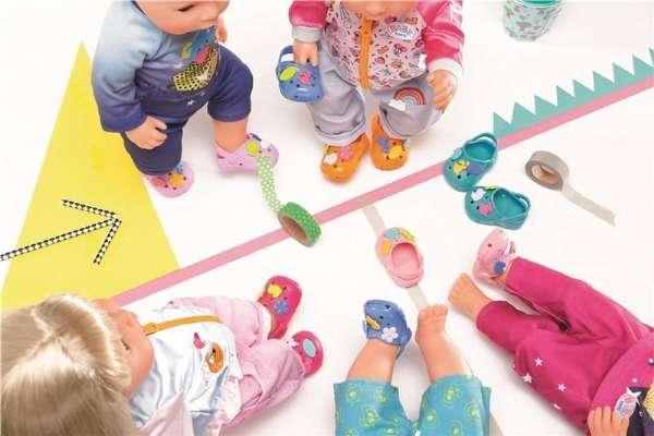 61692ad5ff6 Baby Born Sko med sjove mærker Orange - Baby Born Dukketøj 824597 ...
