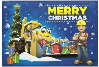 Adventskalender : Bob the builder Adventcalender 2017 - Bob the builder pakkekalender 627185