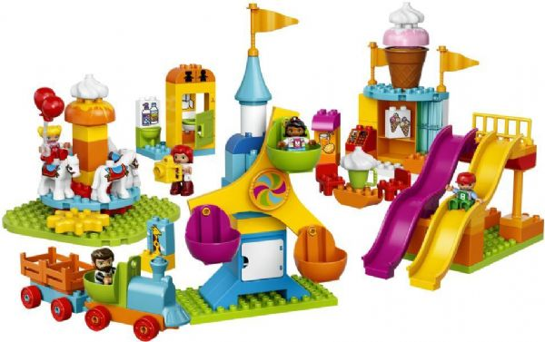 Image of Stor forlystelsespark - LEGO DUPLO 10840 Town (02-010840)