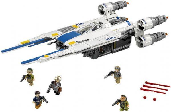 Image of Rebel U-wing Fighter - Lego 75155 Star Wars (02-075155)