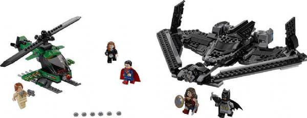 Retfærdighedens helte: Luftkamp - LEGO 76046 Super Heroes - - LEGO