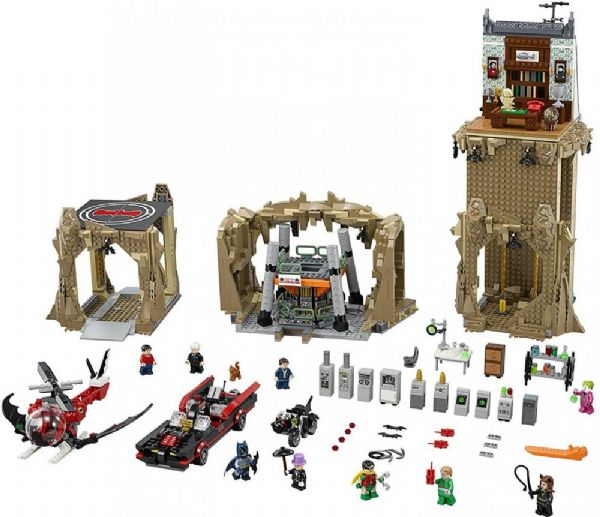 Image of Batman Den Klassiske Bathule - LEGO Batman Classic Batcave 76052