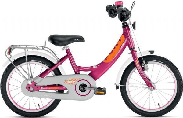 Image of   Børnecykel lilla 16 tommer - Puky cykel zl 16-1 alu 4226