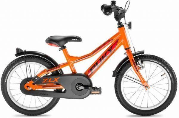 Image of   Børnecykel Orange/blå 16 tommer - Puky cykel zlx 16-1 alu 4272