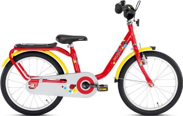 Image of   Puky Børnecykel rød/gul 18 tommer - Puky Z 8 4304