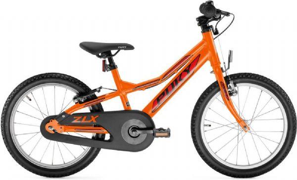 Image of   Børnecykel Orange 18 tommer - Puky ZLX 18 Alu 4372