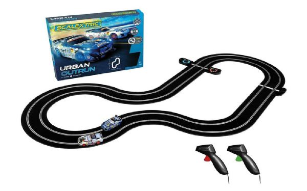 Image of Urban Outrun (Zombie v Spartan) - Scalextric Racerbane 0C1379 (07-0C1379)