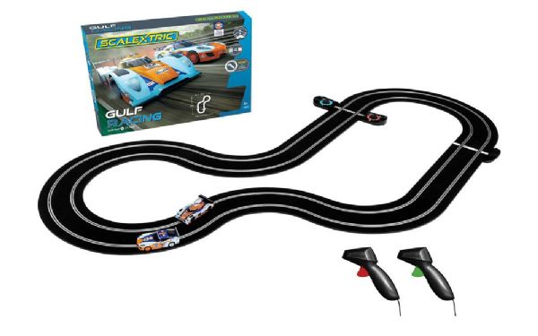 Image of Gulf Racing (GT v LMP) - Scalextric Racerbane 0C1384 (07-0C1384)