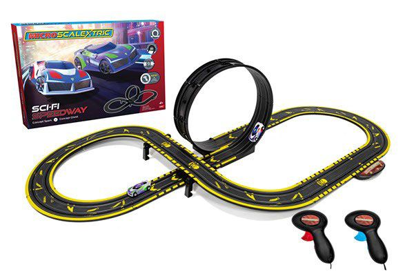 Image of Micro Scalextric Sci-Fi Speedway - Scalextric Racerbane 0G1133 (07-0G1133)
