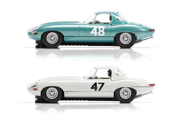 Image of   Legends Jaguar E-type 1963 LMTD - Scalextric Trophy Twin C3898A