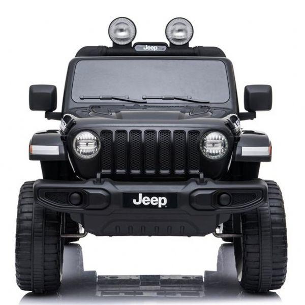 Image of   Jeep Wrangler Rubicon Elbil 4x12V sort - Elbiler til børn 001692