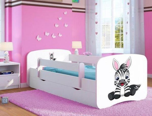 kocot kids – Juniorseng m. skuffe og madras zebra - juniorseng 30299 på eurotoys