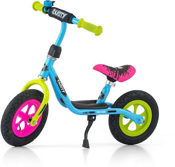 Image of   Dusty Multicolor Løbecykel 10 tommer - Dusty Balancecykel 123258