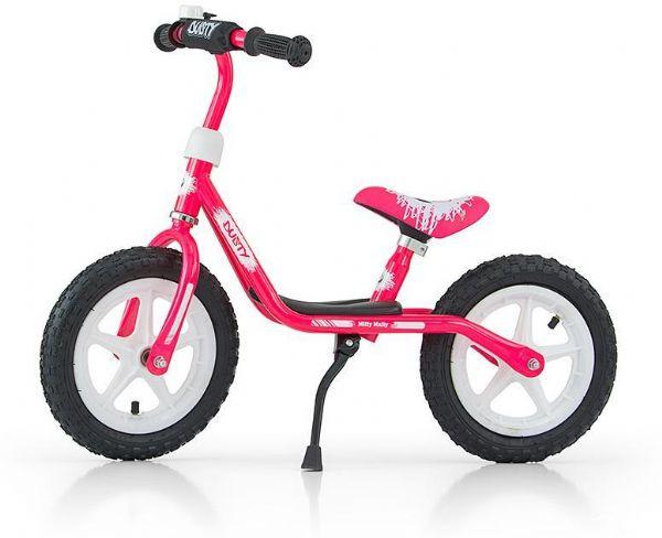 Image of   Dusty Pink Løbecykel 12 tommer - Dusty Balancecykel 123326