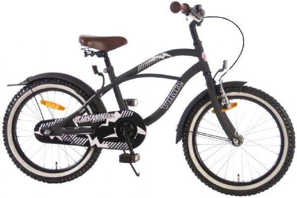 Image of   Børnecykel Black Cruiser 18 tommer - Børnecykel 318023