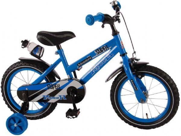 Image of   Børnecykel Super Blue 14 tommer - Børnecykel 714320