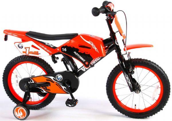 Image of   Børnecykel Motorbike Rød 16 tommer - Børnecykel 916144