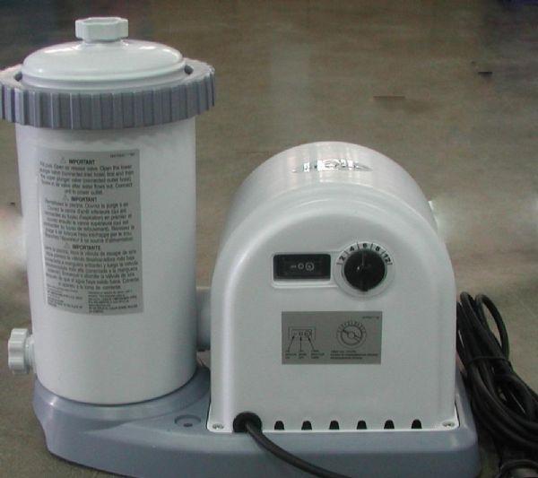Image of   Filterpumpe Hus Og Motor Del 5.678 Ltr. - Intex reservedele 11472