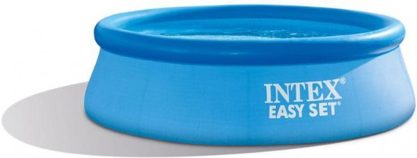 Image of   Pool Easy Set 2.419 Ltr. 244x76 cm - Intex Svømmebassin 28112