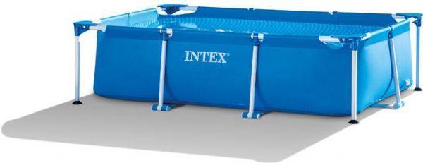 Pool med galvaniseret ramme 1.662 ltr. - intex svømmebassin 28270 fra intex pool på eurotoys