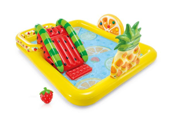 Image of   Fun N Fruity Play Center 244x191x91cm - Intex Pool og badeudstyr 57158