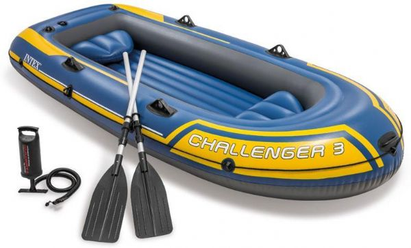 Image of Gummibåd Challenger 3 pers. - Intex gummibåd 68370 (101-068370)