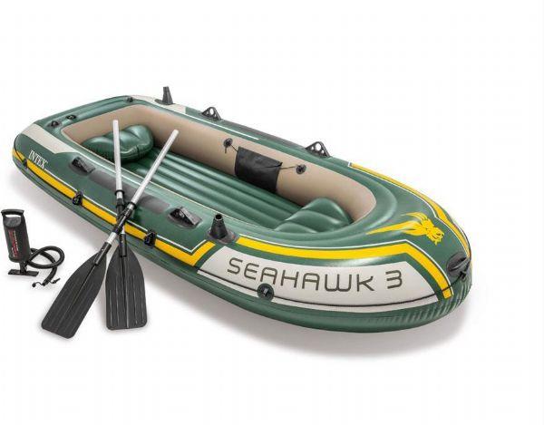 Image of Gummibåd Seahawk 3 - Intex Gummibåde 68380NP (101-068380)