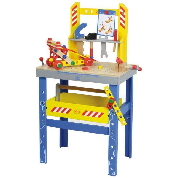 Vilac værkstedsbord - vilac værktøjsbænk 21311 fra vilac fra eurotoys