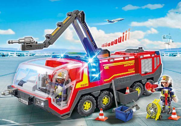 Image of Brandbil med lys og lyd - Playmobil 5337 (13-005337)