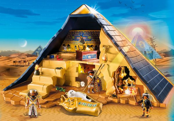 Image of Faraos pyramide - Playmobil Egypten 5386 (13-005386)