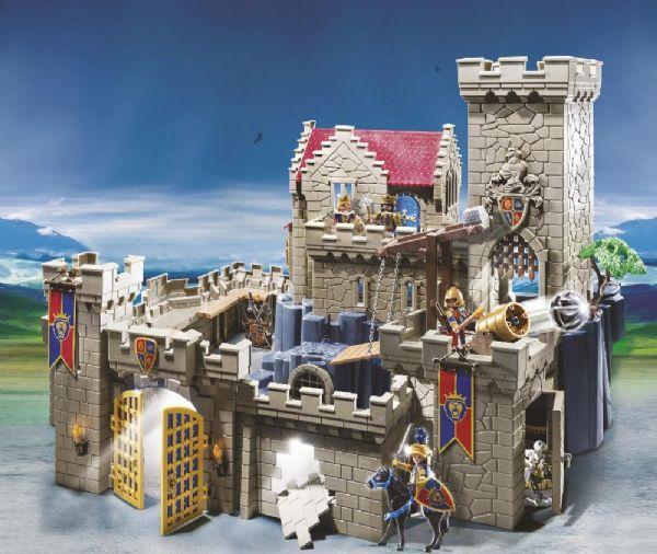 Image of Løveriddernes Borg - Playmobil Knights 6000 (13-006000)