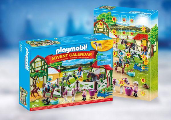Image of   Julekalender Hestefarmen - Playmobil Julekalender 9262