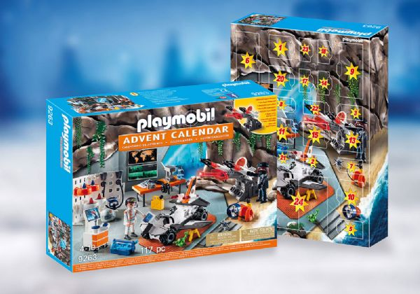 Image of   Julekalender Top Agents - Playmobil Julekalender 9263