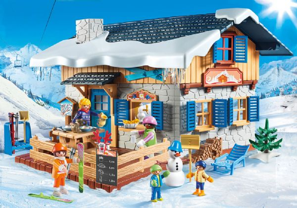 Image of   Skihytte - Playmobil Family Fun 9280