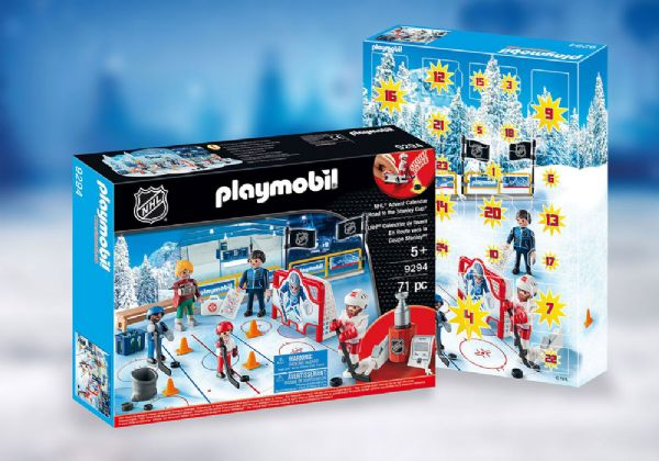 Image of   Julekalender NHL Road to Stanley - Playmobil Jul 9294