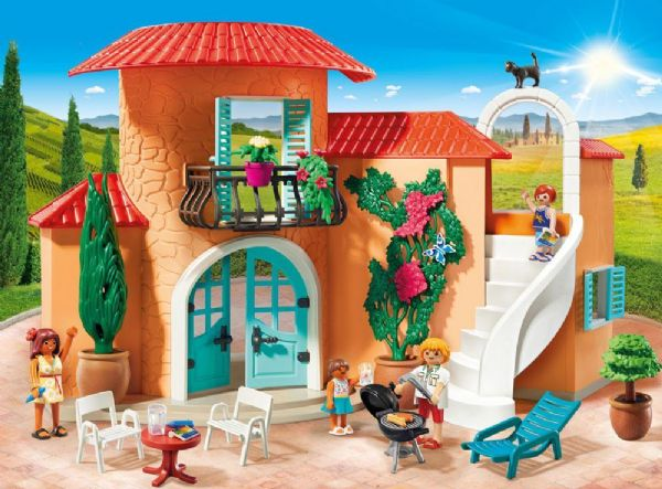 Image of   Sommerhuset - Playmobil Family Fun 9420