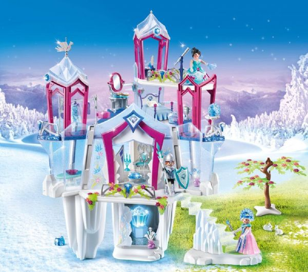 Skinnede krystalpalads - playmobil magic 9469 fra playmobil på eurotoys